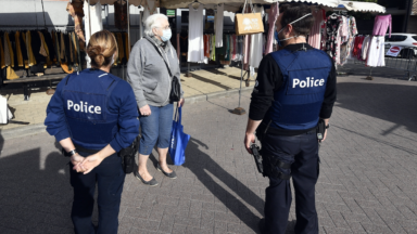 Les six zones de police bruxelloises annoncent des contrôles des mesures Covid-19 ce week-end