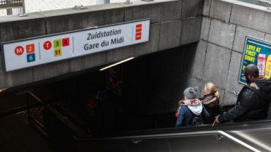 Gare du Midi : une personne blessée à la suite d'une bagarre