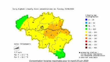 Ozone : le seuil d'information européen dépassé