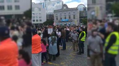 Journée mondiale du réfugié : rassemblement de 300 personnes place du Luxembourg
