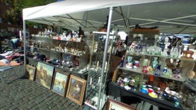 Le marché des antiquaires du Sablon et celui de la place du Jeu de balle rouvrent les 13 et 21 juin