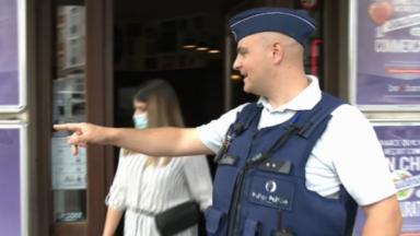 """Denis Ducarme en visite à la zone Marlow : """"Sans la police, le déconfinement n'est pas possible"""""""