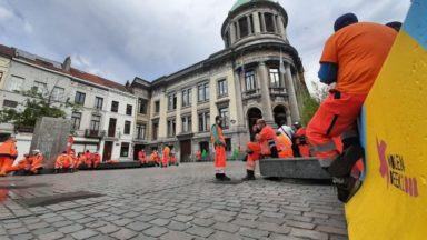 Molenbeek : les agents de la propreté publique en arrêt de travail après une agression