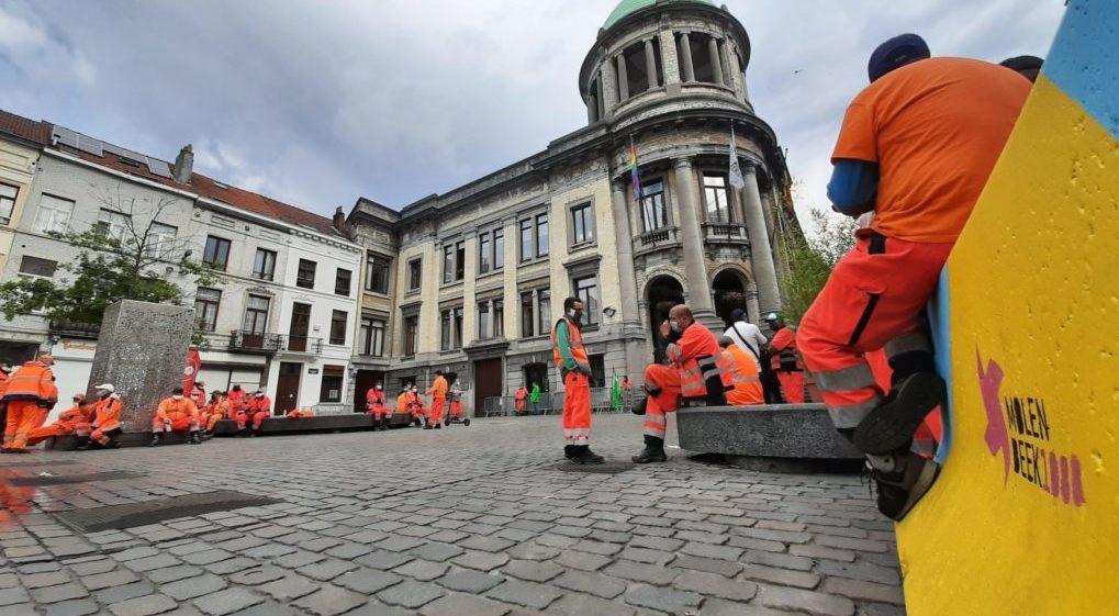 Agents Propreté publique en arrêt de travail Molenbeek - Yannick Vangansbeek BX1