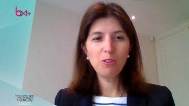 """Alexia Bertrand : """"Le gouvernement bruxellois veut préserver l'emploi mais il faut aussi en créer"""""""