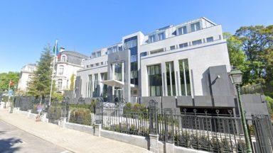 Woluwe-Saint-Pierre : près de 500 manifestants devant l'ambassade d'Azerbaïdjan