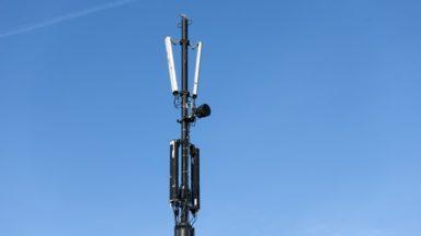 Watermael-Boitsfort : un pylône d'antenne GSM a été endommagé par un incendie