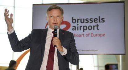 Arnaud Feist CEO Brussels Airport - Belga Yorick Jansens
