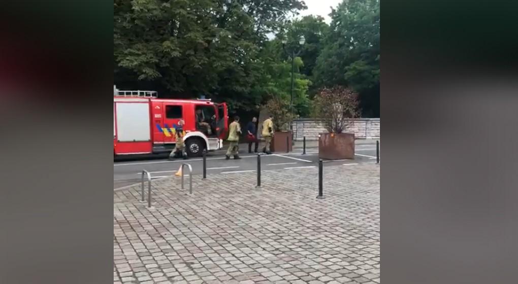 Avenue des Azalées Schaerbeek Pompiers - Capture Facebook Georges Verzin