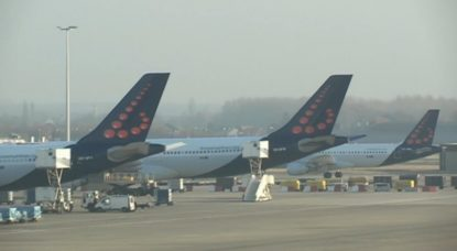 Avions Aéroport Zaventem Brussels Airport - Capture BX1