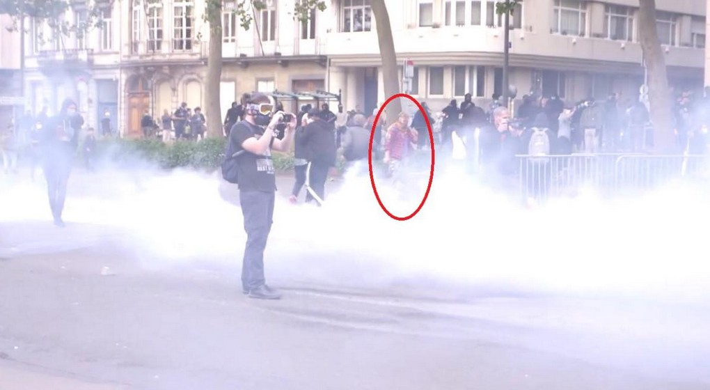 Avis de recherche police pillages après manifestation Black Lives Matter - Photo Zone de police Bruxelles Capitale Ixelles