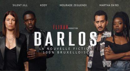 Barlos - Série Bruxelles Mobilité - Affiche