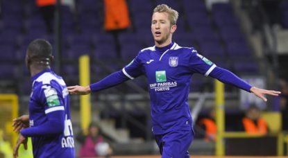 But Michel Vlap RSC Anderlecht - Stade vide - Belga Laurie Dieffembacq