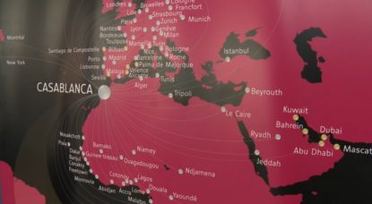 Carte Agence de voyages Europe Afrique Asie - Capture BX1