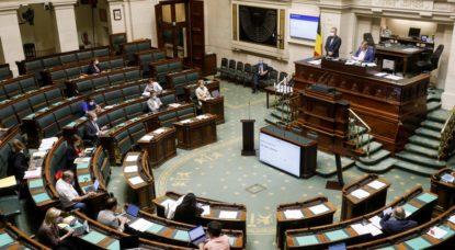 Chambre Parlement fédéral Débats 15 juillet 2020 - Belga Thierry Roge