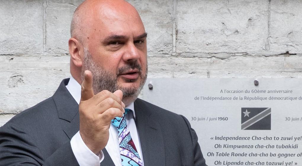 Christos Doulkeridis - Bourgmestre Ixelles - Belga Benoit Doppagne