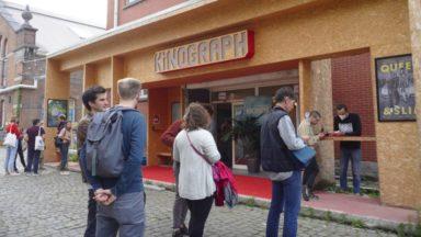 """""""J'peux pas, j'ai cinéma"""" : le Kinograph a rouvert à Ixelles en présence de la ministre Bénédicte Linard"""