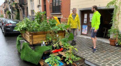 Citizen Garden Retour - Jardin citoyen Schaerbeek - Twitter Garden_Citizen