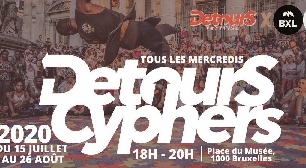 Detours Cyphers 2020 - Affiche Detours Festival