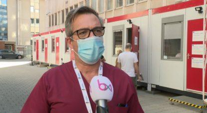 Didier Delmarcelle - Chef Urgences Cliniques Saint-Jean- Interview BX1