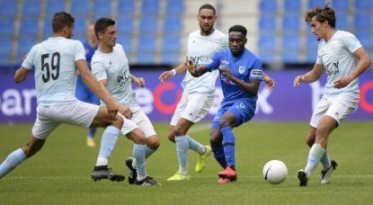 Football Union Saint-Gilloise Racing Genk Amical - Belga Yorick Jansens