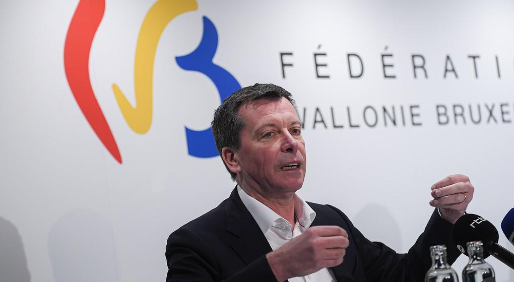 Frédéric Daerden Ministre du Budget Fédération Wallonie-Bruxelles - Belga Laurie Dieffembacq