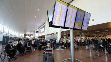 Brussels Airport : une baisse de 96,5% du nombre de passagers par rapport à juin 2019
