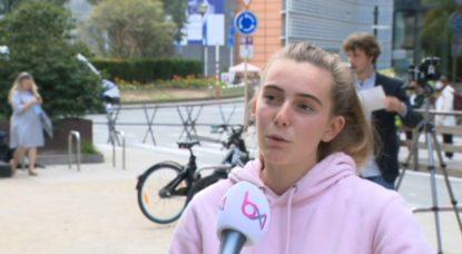 Interview Adelaide Charlier - Conseil Européen - Capture BX1