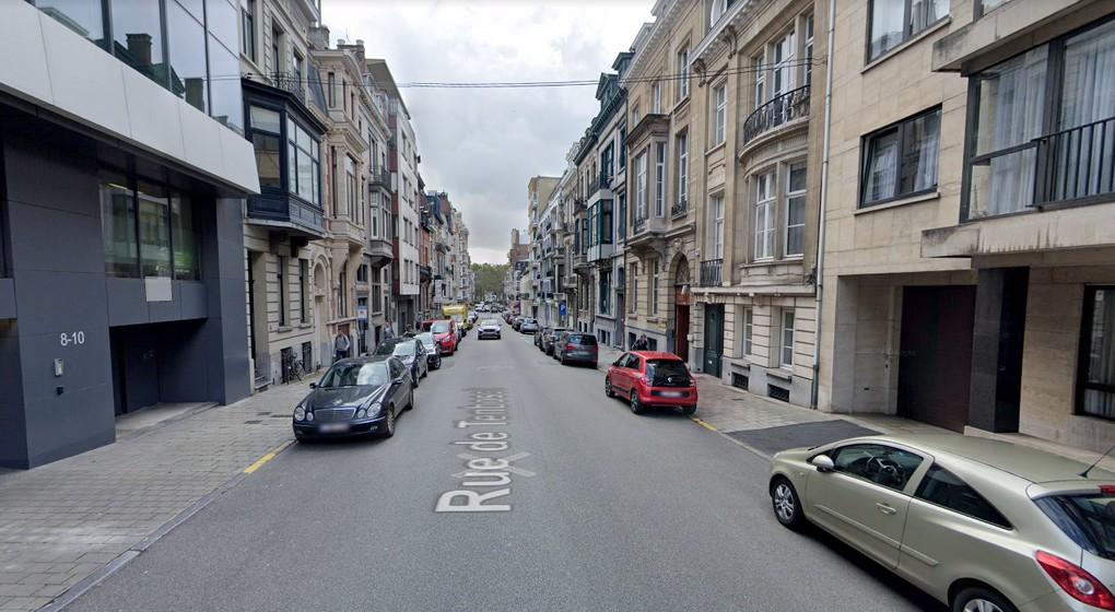 Ixelles Rue de Tenbosch - Google Street View