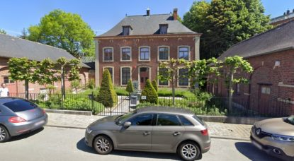 Jardin de la Maison des Arts Uccle - Capture Google Street View