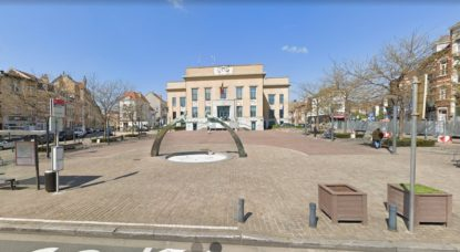 Koekelberg - Place Henri Vanhuffel - Capture Google Street View