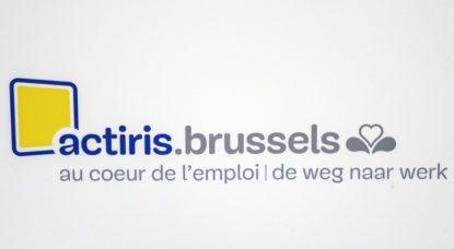 Logo Actiris Brussels - Belga Laurie Dieffembacq