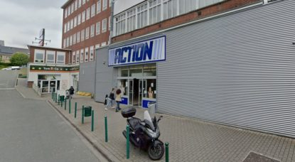 Magasin Action Schaerbeek - Rue de Genève - Capture Google Street View