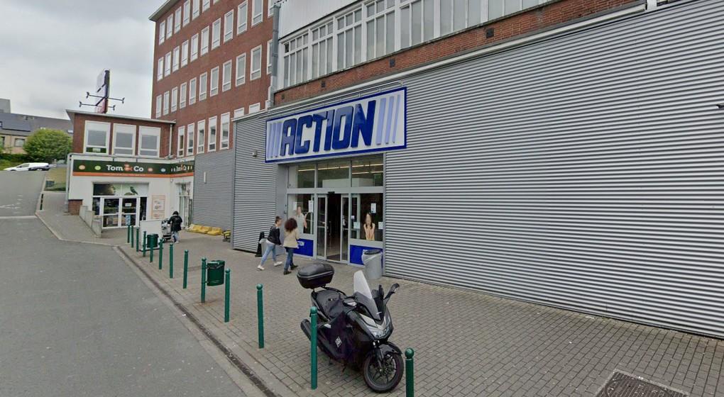 Magasin Action Schaerbeek - Rue de Genève - Capture Google Street View