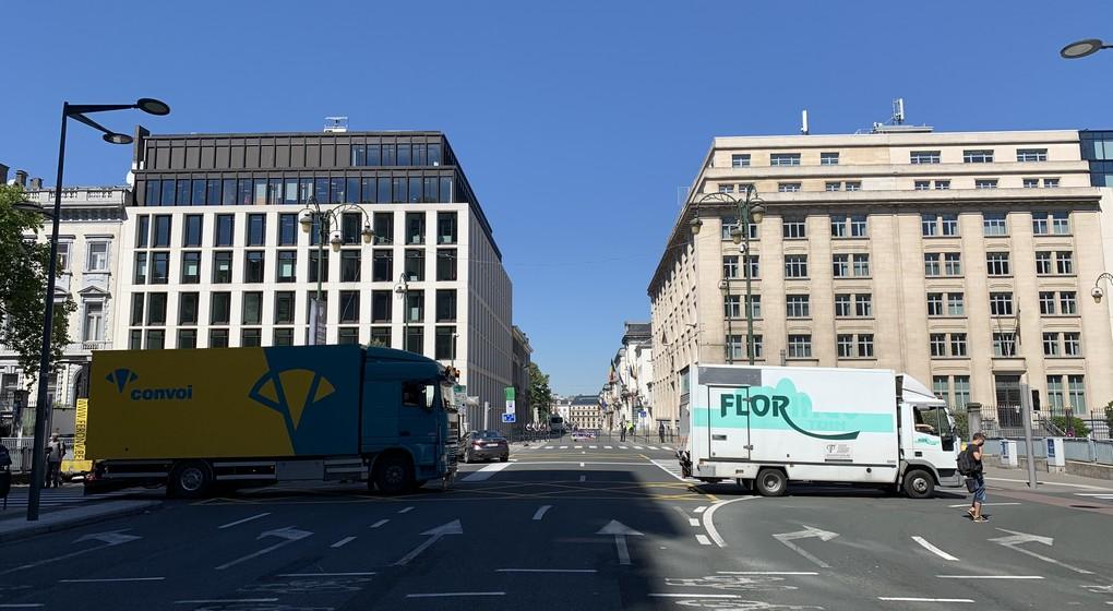 Manifestation Forains Bruxelles 3 - Thomas Dufrane BX1