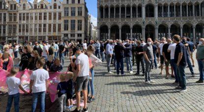 Manifestation Forains Foire du Midi Grand Place Bruxelles - Thomas Dufrane BX1
