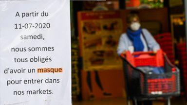 Plusieurs chaînes de supermarchés distribueront ou vendront des masques dès samedi