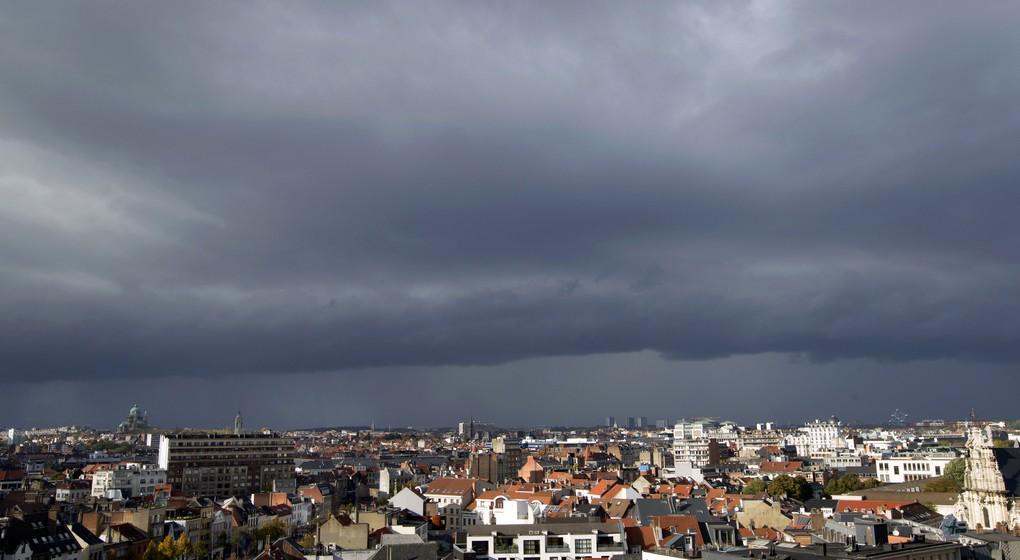 Nuages Ciel de Bruxelles Météo - Belga Kristof Van Accom