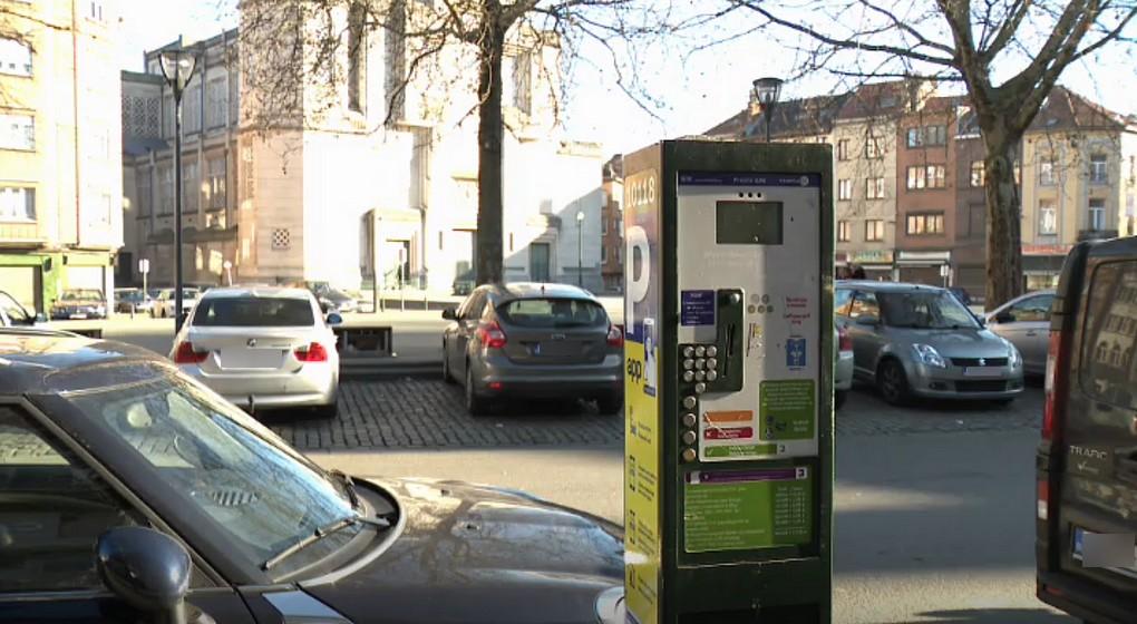 Parcmètre Horodateur Parking Stationnement Molenbeek - Capture BX1