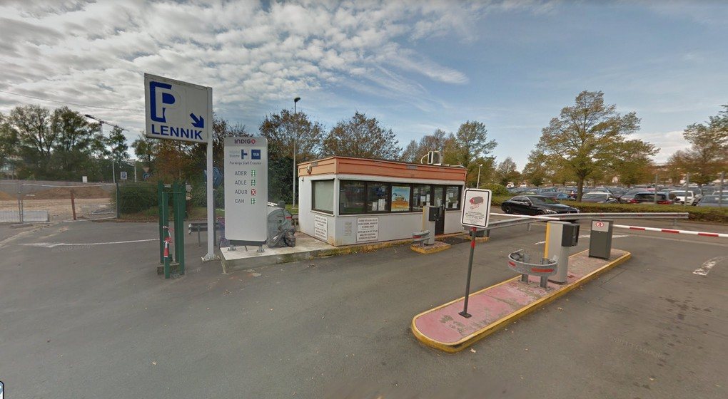 Parking Lennik Erasme - Anderlecht - Capture Google Street View
