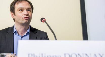Philippe Donnay - Bureau du Plan - Belga Jasper Jacobs