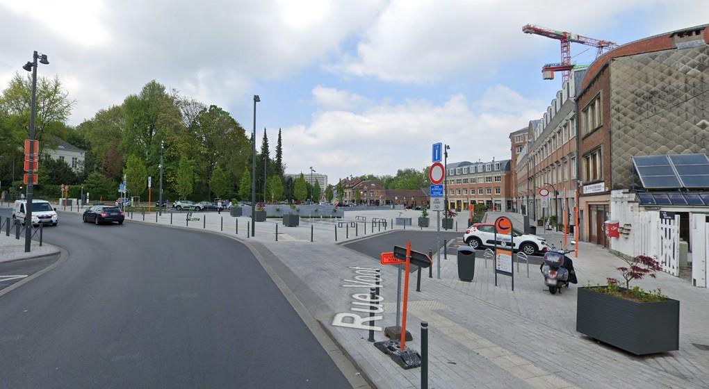 Place Saint-Lambert - Woluwe-Saint-Lambert - Capture Google Street View