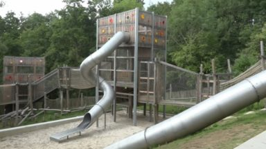 Molenbeek : une nouvelle plaine de jeux ouvre au parc du Scheutbos