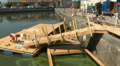 Ponton Canal Anderlecht - Capture BX1