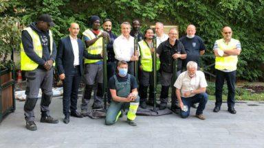 Saint-Josse-ten-Noode : la commune dispose de nouveaux potelets conçus localement