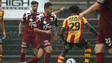 Football : Malines et le RWDM se quittent sur un match nul