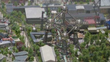 L'Atomium expose l'unique représentation en 3D de l'Expo 58 dès le 21 juillet