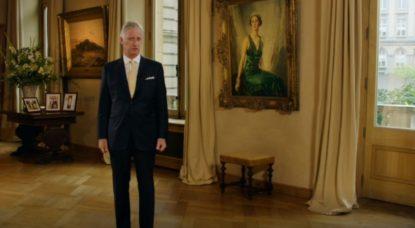 Roi Philippe - Discours 21 juillet 2020 Fête Nationale - Capture BX1