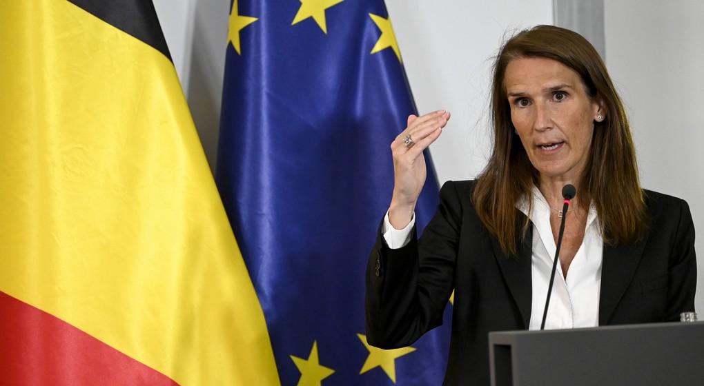 Sophie Wilmès - CNS Conseil National de Sécurité 23 juillet - Belga Dirk Waem