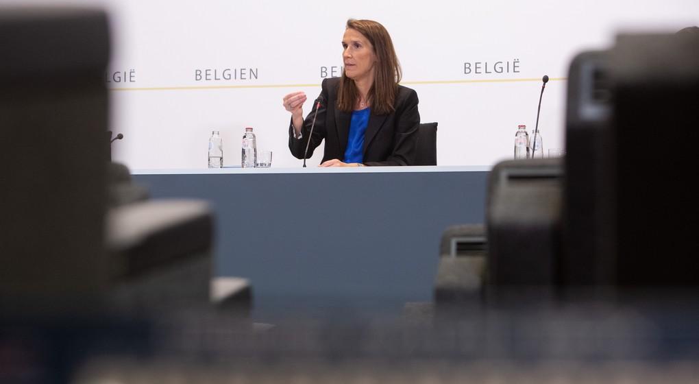 Sophie Wilmès - Conseil National de Sécurité 24 juin 2020 - Belga Alexis Haulot